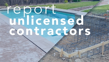 Report Unlicensed Contractors